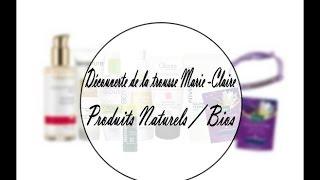Trousse Marie   Claire produits naturels bios Thumbnail