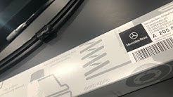 Mercedes C300 Wiper Blade Change