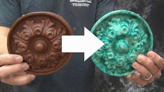 Resin Casting Tutorial: Cold Cast Bronze And Copper Patinas
