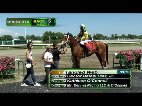 video thumbnail for MONMOUTH PARK 6-30-19 RACE 5