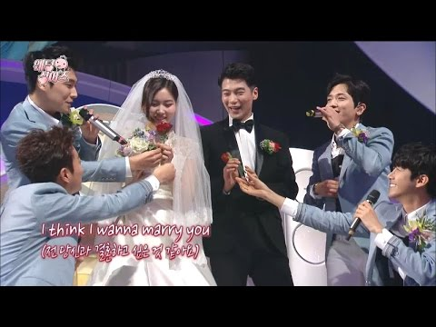 【TVPP】Yonghwa, DooJoon, Kwanghee, LeeJun- Marry You+Propose, 용화,두준,광희,이준–메리유+청혼 @Infinite Challenge