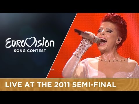 Aurela Gaçe - Feel The Passion (Albania) Live 2011 Eurovisio
