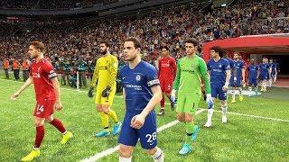 Liverpool vs Chelsea - UEFA Super Cup Final 2019 | PES 2019