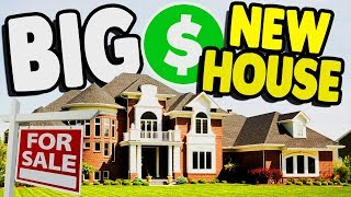 Buying FIRST MANSION & GARAGE CLEAN UP | House Flipper Gameplay