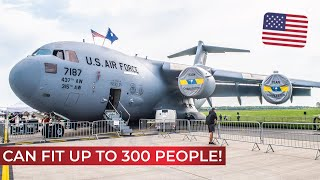 What's INSIDE a Boeing C-17 Globemaster...