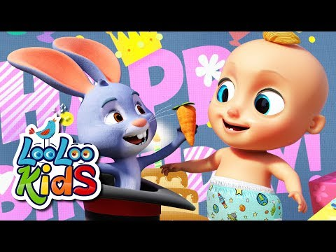 happy-birthday-🎉-birthday-song-for-children-|-looloo-kids