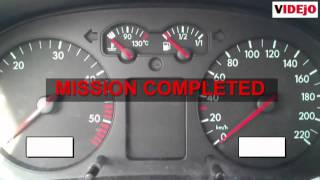 How to reset service light on VW Golf 4