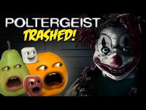 Annoying Orange - POLTERGEIST TRAILER Trashed!!