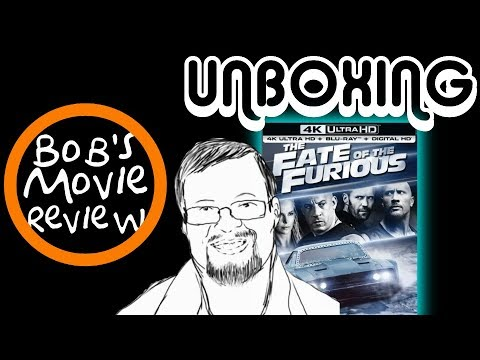 The Fate Of The Furious 4K Steelbook Unboxing + Digital HD Giveaway ( Open In USA Only )