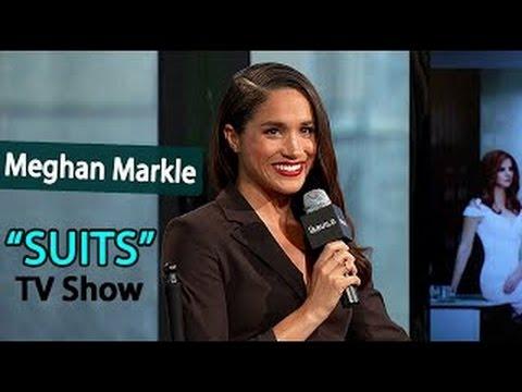 Meghan Markle talks SUITS TV Show w/ Gabriel Macht & Patrick J. Adams | Interview March 17