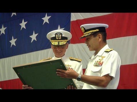 アメリカ海軍・第7遠征打撃群(第7艦隊)司令官交代式 - US Navy Expeditionary Strike Group 7 (7th Fleet) Change of Command