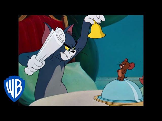 Tom & Jerry   The Role Reversal   Classic Cartoon   WB Kids