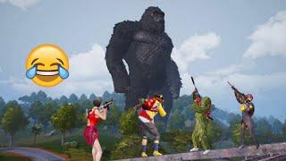 Godzilla vs Kong In PUBG Mobile