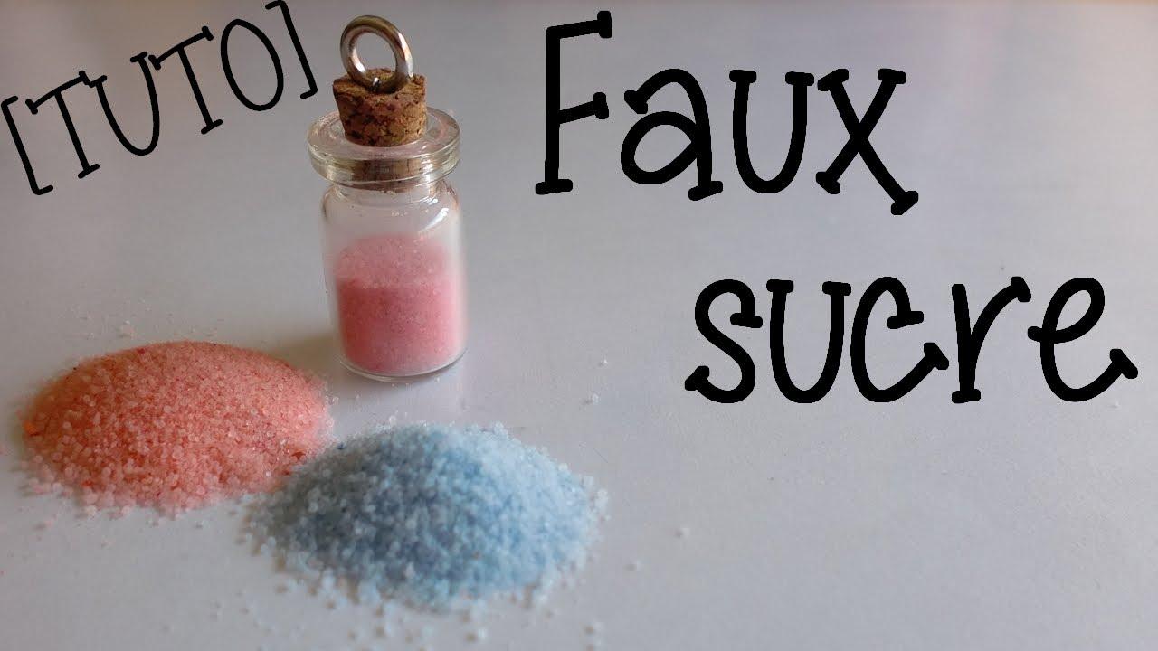 tuto fimo effet faux sucre sable color youtube - Sable Colore