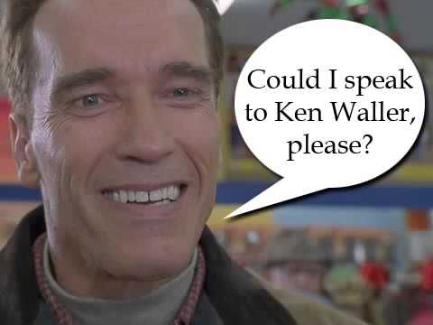 Arnold Is Looking For His Son, Ken Waller