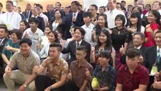 2018年8月20日行政院長賴清德出席2018年新南向國家華校校長會議開幕典禮