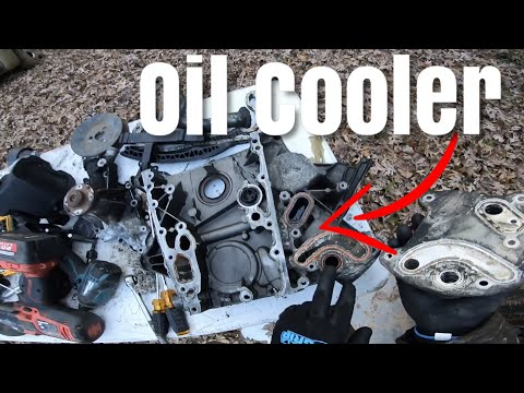 How to remove Oil Cooler on a T1N Mercedes Sprinter