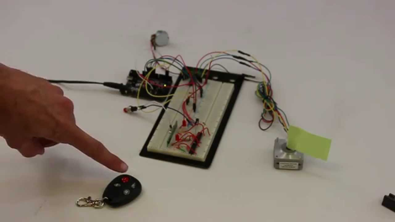 Stepper Motor Control No Microcontroller Needed
