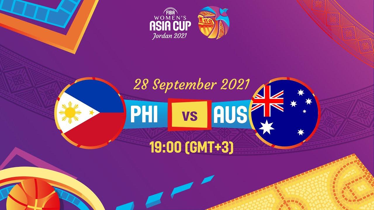 Philippines v Australia   Full Game   FIBA Women's Asia Cup 2021 - Division A