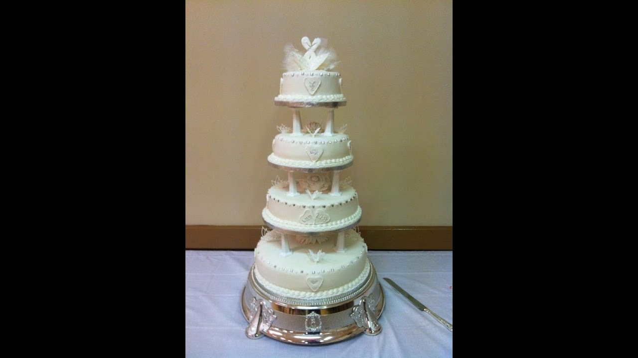 wedding cakes traditional how to make a traditional wedding cake 25748