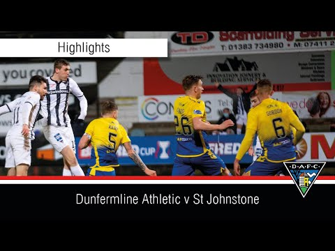 Dunfermline St. Johnstone Goals And Highlights