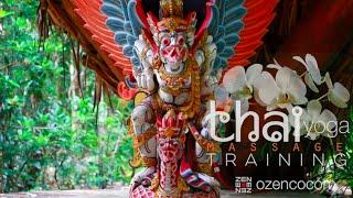 OZEN rajneesh resort - thai yoga massage training