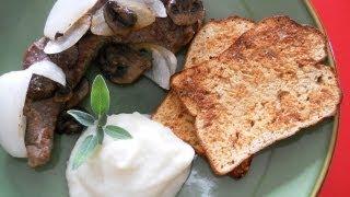 Paleo Mashed Potatoes Steak & Paleobread™