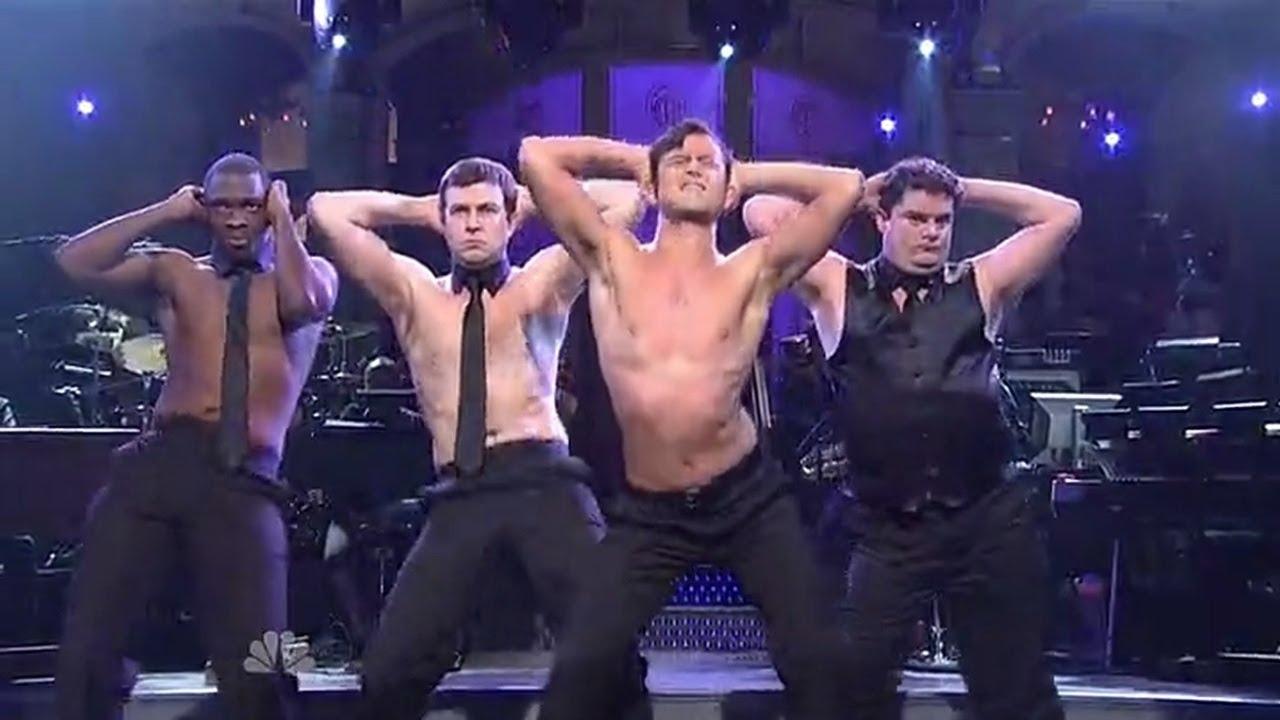striptease on stage