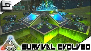 ARK: Survival Evolved - TEK TURRET BASE DEFENSE! S2E9 ( Modded Ark Extinction Core )