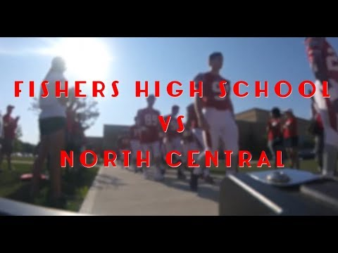 Fishers VS North Central Football Game 2017