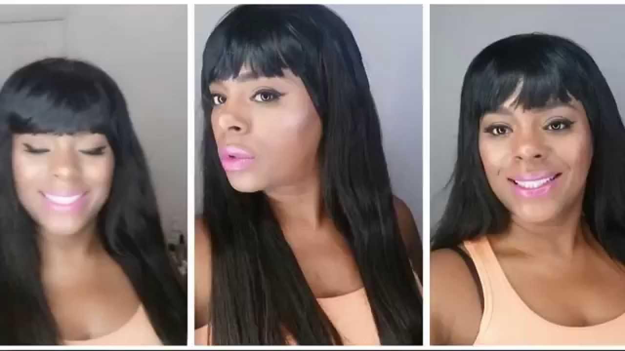 Vma S 2015 Nicki Minaj Inspired Hairstyle Chinese Bang
