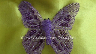 Плетение бисером. Бабочка из бисера. Бисероплетение(Плетение бисером. Бабочка из бисера. Бисероплетение., 2015-03-07T22:46:35.000Z)
