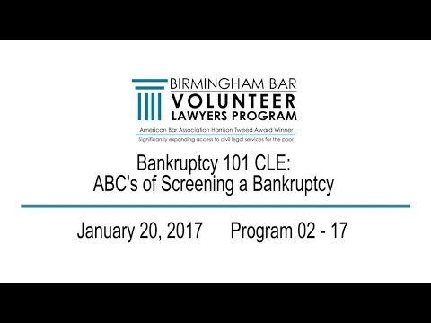 Bankruptcy CLE
