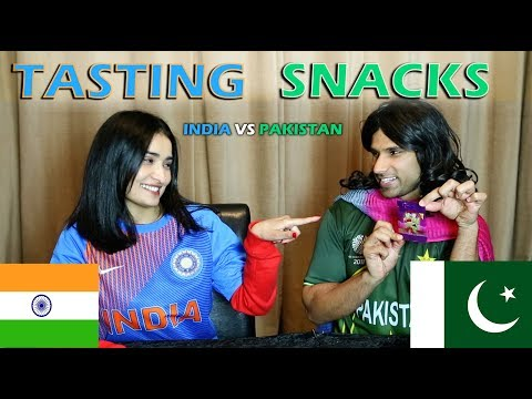 Tasting Snacks | Pakistan vs India | Rahim Pardesi