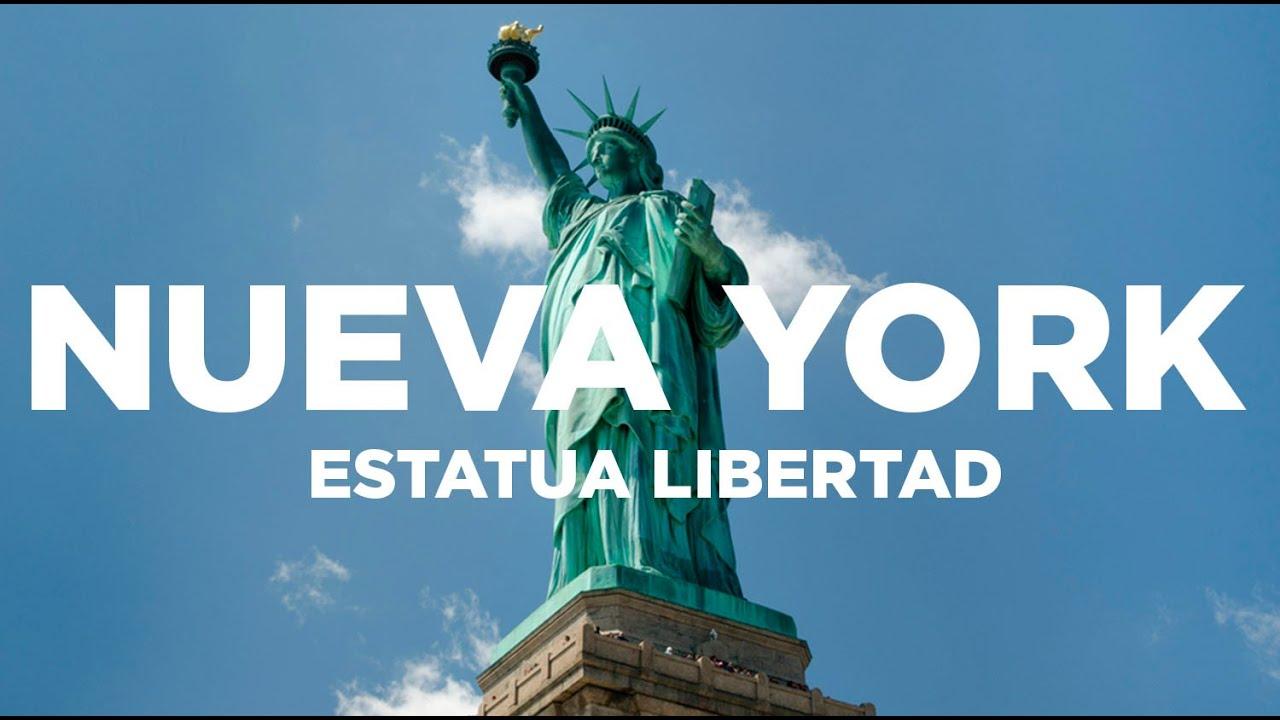 Estatua de la libertad gu a de nueva york youtube for Interior estatua de la libertad