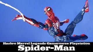 Marvel Legends Spider-Man Playstation Hasbro Gamerverse GameStop Exclusive Action Figure Review