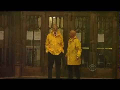The Late Show with David Letterman Introduction during Hurricane Sandy. 10/29/2012