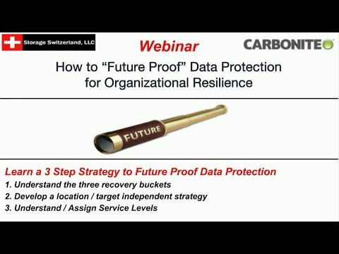 3 Step Strategy to Future Proof Data Protection | Carbonite