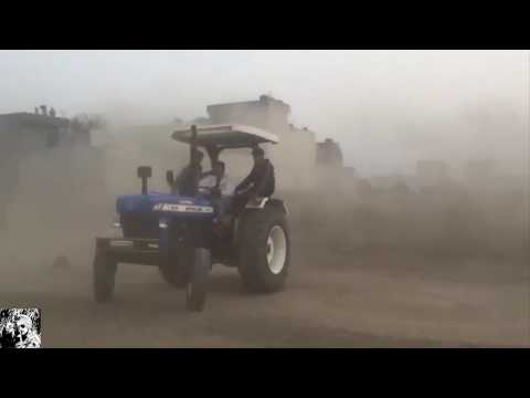 Holland TRACTOR Brake System Check By Amateurs ★ Wheelie Stunt