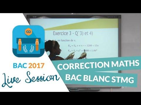 Bac Blanc STMG : Correction en live de l'épreuve de Maths - Avec digiSchool