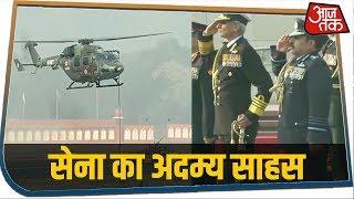 Army Day पर भारतीय सेना ने दिखाया दम