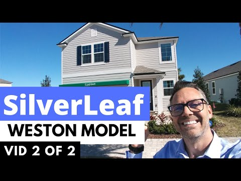 WESTON MODEL By Emerald Homes In SILVERLEAF Village, Video 2