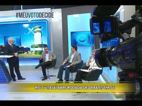 Eleições  - RICTV Itajaí abre rodada de debates em Santa Catarina