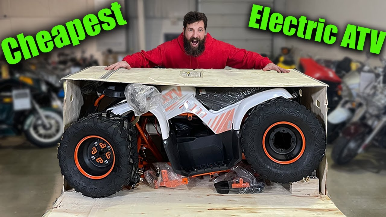 I Bought the Cheapest ELECTRIC ATV on the Internet