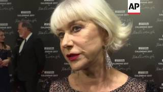 Helen Mirren, Nicole Kidman, Uma Thurman, more walk red carpet for Pirelli Calendar Gala