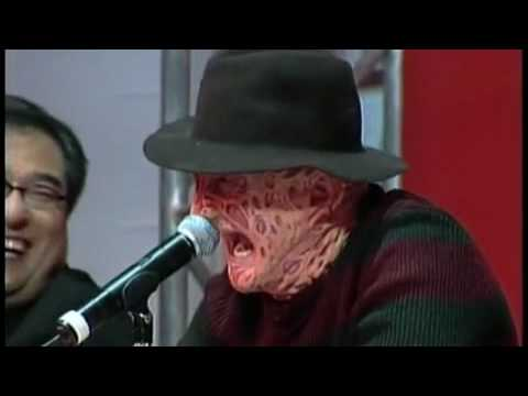 Freddy VS Jason -Weigh-In, las Vegas ...