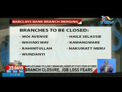 Barclays refutes layoff claims as it closes branches