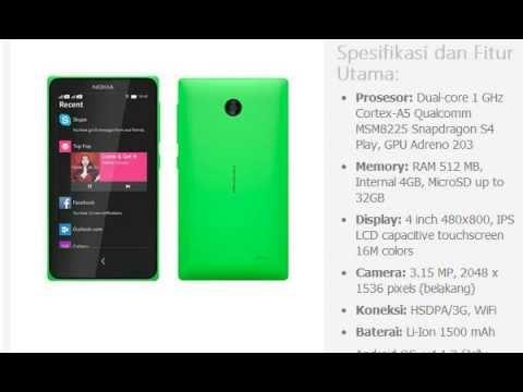 Harga HP: NOKIA X Dual SIM