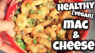 Healthy Mac & Cheese! // VEGAN Mac & Cheese! (Healthy Comfort Food)