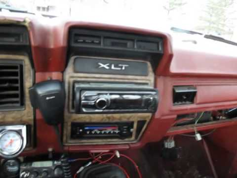 1986 Ford F-250 6.9 diesel